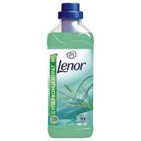 """Кондиціонер-ополіскувач безфосфатний для тканин Lenor """"Альпійські луги"""", 1 л"""