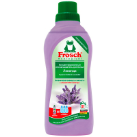 """Кондиціонер-ополіскувач екологічний концентрований для тканин Frosch """"Лаванда"""", 750 мл"""