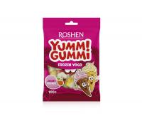 Цукерки Roshen Yummi Gummi frozen yogo 100г