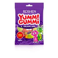 Цукерки Roshen жeлейні Yummi Gummi Galaxy Life 100г