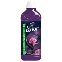 """Кондиціонер-ополіскувач безфосфатний для тканин Lenor """"Аметист і квітковий букет"""", 930 мл"""