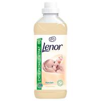 """Кондиціонер-ополіскувач концентрований для тканин Lenor Pure Care """"Мигдалева олія"""", 1 л"""