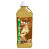 """Кондиціонер-ополіскувач безфосфатний для тканин Lenor """"Золота орхідея"""", 930 мл"""