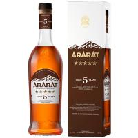 Коньяк Арарат 5* 40% 0,5л