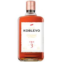Коньяк Koblevo 3* 40% 0,5л