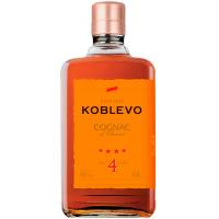 Коньяк Koblevo 4* 40% 0,5л