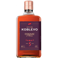 Коньяк Koblevo 5* 40% 0,5л
