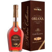 Коньяк Таврія Ориана 40% 0,5л туба