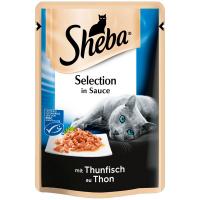 Корм Sheba з тунцем в соусі 85г