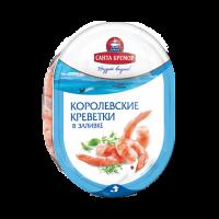 Виріб рибний Санта Бремор М`ясо королівській креветки в зал. 180г