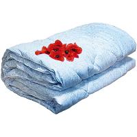 Ковдра Zastelli Blue Silk 155*210см шовк рослинний