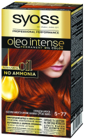 Фарба для волосся Syoss Oleo Intense 5-77 глянцева бронза