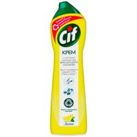 Крем чистячий Cif Cream Універсальний з мікрогранулами Лимон, 500 мл