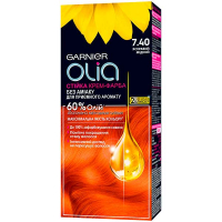 Крем-фарба для волосся Garnier Olia №7.40