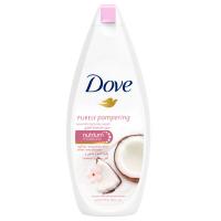 Крем-гель Dove для душу Кокосове молочко та жасмин 250мл х6