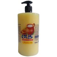 Крем-мило рідке Olis Молоко і мед з дозатором 1000мл