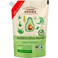Крем-мило рідке Зелена Аптека алое і авокадо д/п 460мл