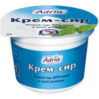 Крем-сир Adria м`який 60% 100г