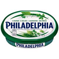Крем-сир Philadelphia Kraft з зеленню 175г