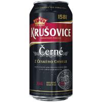 Пиво Krusovice чорне з/б 0,44л