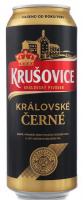 Пиво Krusovice Cerne темне фільтроване 3.8% ж/б 0,5л