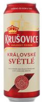 Пиво Krusovice Svetle світле фільтроване 4.2% 0,5л ж/б