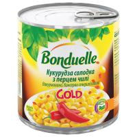 Кукурудза Bonduelle солодка пецем чилі 425мл