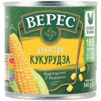 Кукурудза Верес Цукрова ж/б 340г
