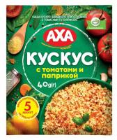 Каша AXA Кускус з томатами та паприкою 40г