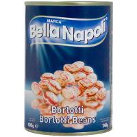 Квасоля Bella Napoli борлотті ж/б 400г