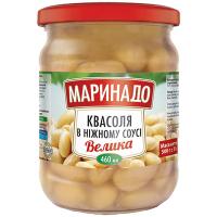 Квасоля Маринадо в ніжному соусі с/б 460мл