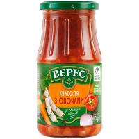 Квасоля Верес із овочами 500г