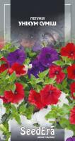 Насіння Квіти Петунія Унікум суміш Seedera 0,1 г
