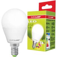 Лампа Eurolamp LED 5W E14 3000K арт.G45-05143(D)