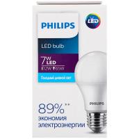 Лампа Philips світлодіодна LED 7W 6500К Е27