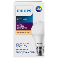 Лампа Philips світлодіодна LED 9W 3000К Е27
