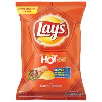 Чіпси Lays With Hot Effect смак Буріто з куркою 120г