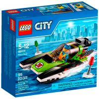 Конструктор Lego City Гоночний катер 5-12 60114