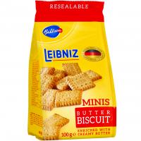 Печиво Bahlsen Leibniz minis butter biscuits 100г х6