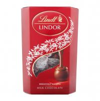 Цукерки Lindt Lindor молочний шоколад 200г