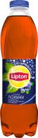Напій Lipton чорний чай зі смаком лохини 1л