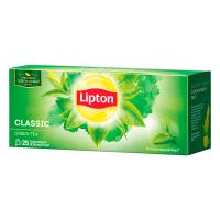 Чай ТМ Lipton зелений, Classic, Україна 25пак.*1,6г