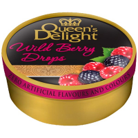 Льодяники Queen`s Delight лісові ягоди ж/б 150г