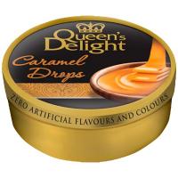 Льодяники Queen`s Delight зі смаком карамелі ж/б 150г
