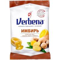 Льодяники Verbena імбир з вітаміном С 60г