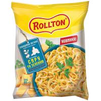 Локшина Rollton яєчна з сиром та зеленню 85г