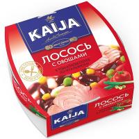Лосось Kaija по-італійські з овочами 220г