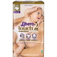 Дитячі підгузники ТМ Libero Touch, №2 3-6 кг, Швеція, 67 шт