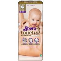 Дитячі підгузники ТМ Libero Touch, №3 4-8 кг, Швеція, 52 шт