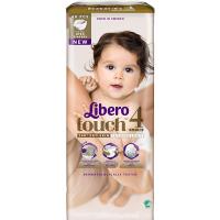 Дитячі підгузники ТМ Libero Touch, №4 7-11 кг, Швеція, 48 шт